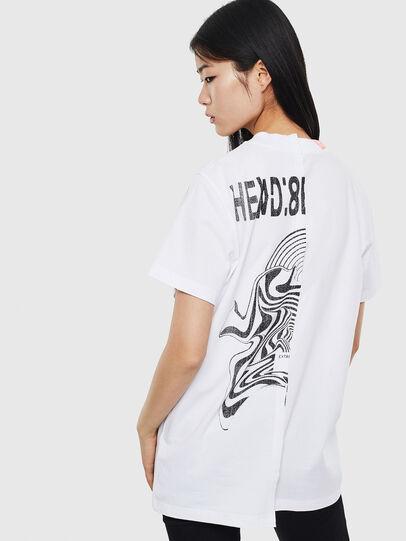 Diesel - T-GOMEZ, Bianco - T-Shirts - Image 2
