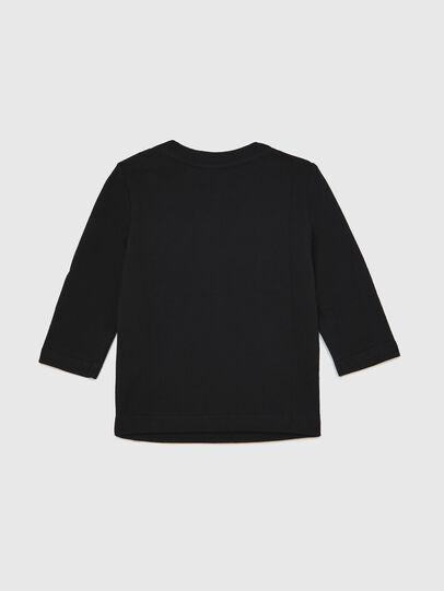 Diesel - TJUSTLOGOB ML, Nero - T-shirts e Tops - Image 2