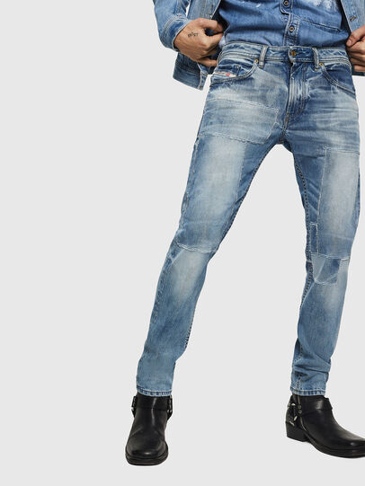 Diesel - Thommer 0092F, Blu Chiaro - Jeans - Image 1