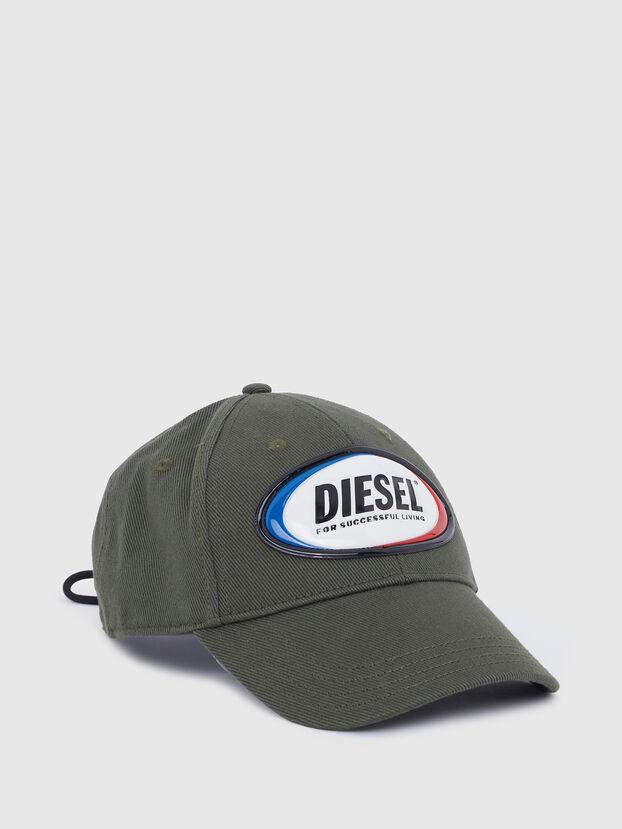 C-DIAZ, Verde Militare - Cappelli