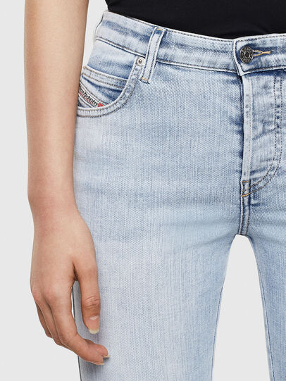 Diesel - Babhila 009AC, Blu Chiaro - Jeans - Image 3