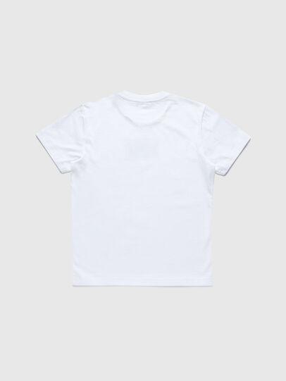 Diesel - TCODE, Bianco - T-shirts e Tops - Image 2