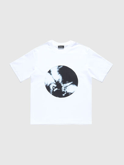 Diesel - TMOONYX2 OVER, Bianco - T-shirts e Tops - Image 1