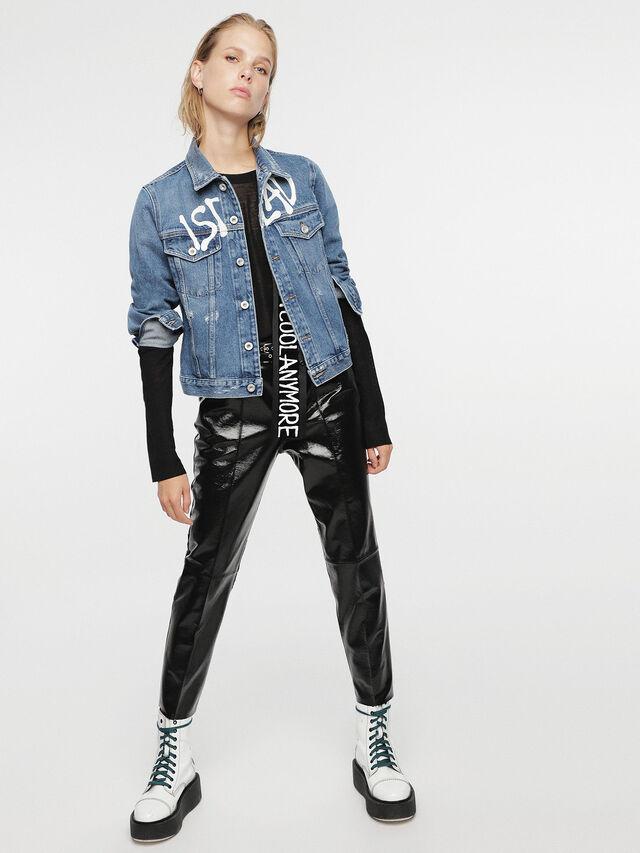 Diesel - HC-DE-VELVET, Blu Jeans - Giacche - Image 4