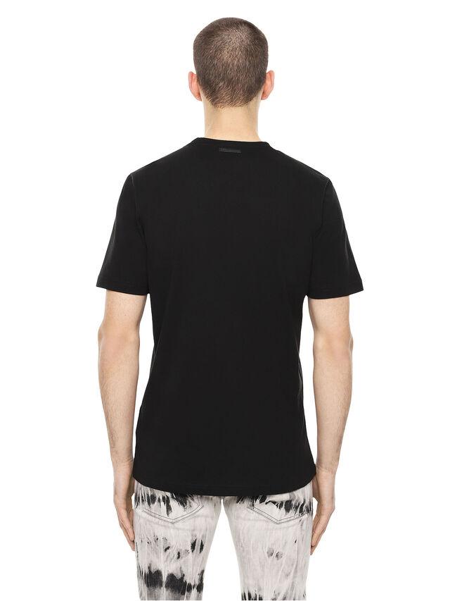 Diesel - TY-DRIPPINGSOLDIER, Nero - T-Shirts - Image 2