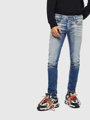 Sleenker 009AF, Blu medio - Jeans