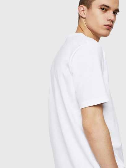 Diesel - T-JUST-POCKET-COPY, Bianco - T-Shirts - Image 2