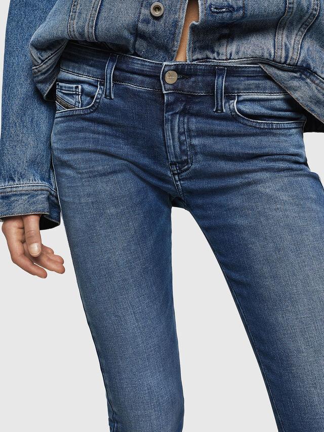 Diesel - Slandy Low 084NM, Blu medio - Jeans - Image 3
