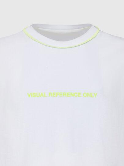 Diesel - T-JUSEAM, Bianco - T-Shirts - Image 3