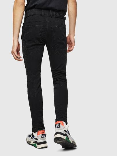 Diesel - Krooley JoggJeans 0092N, Nero/Grigio scuro - Jeans - Image 2