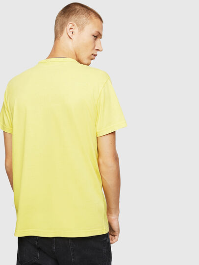 Diesel - T-DIEGO-B14, Giallo - T-Shirts - Image 2