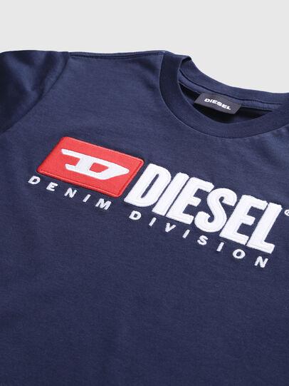 Diesel - TJUSTDIVISION, Blu Scuro - T-shirts e Tops - Image 3