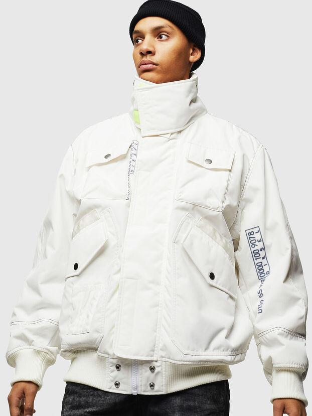 W-OKSO, Bianco - Giacche invernali