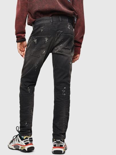 Diesel - Krooley JoggJeans 084AE, Nero/Grigio scuro - Jeans - Image 2