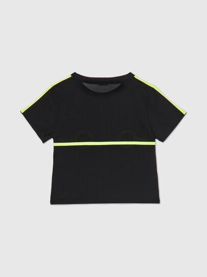 Diesel - UFTEE-ROUNDFEM-M, Nero - T-Shirts - Image 2
