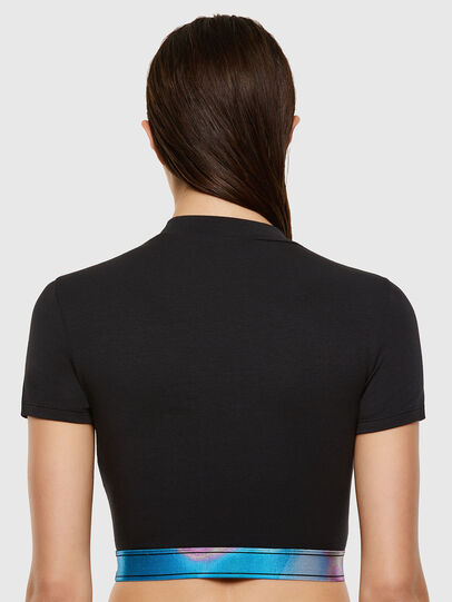 Diesel - UFTEE-GIORGI-SV-ML, Nero - T-Shirts - Image 2