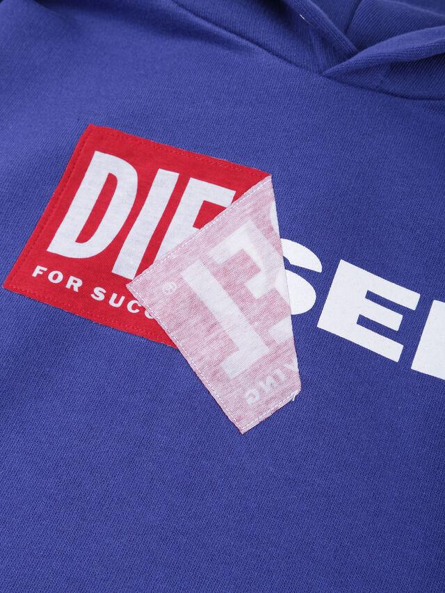 Diesel - SALBY OVER, Blu Ceruleo - Felpe - Image 3
