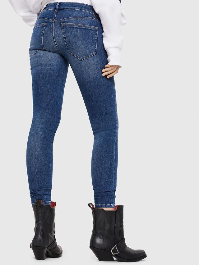 Diesel - Slandy Low 088AU, Blu medio - Jeans - Image 2