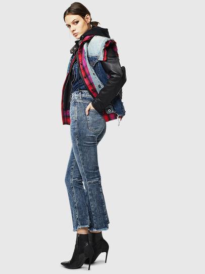 Diesel - D-Earlie 0098W, Blu medio - Jeans - Image 6