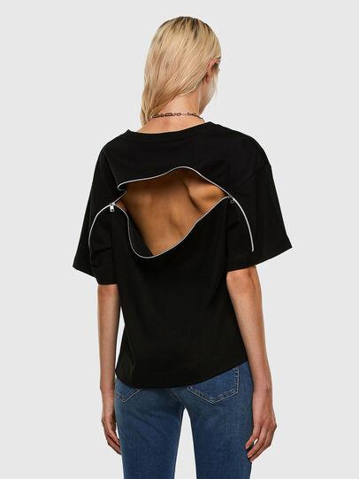 Diesel - T-BOWLY, Nero - T-Shirts - Image 6