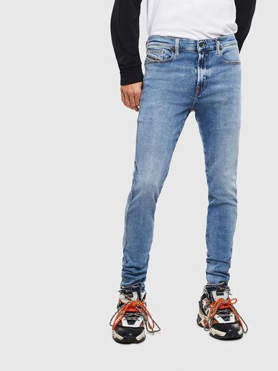 Diesel - D-Istort 009BG, Blu medio - Jeans - Image 1