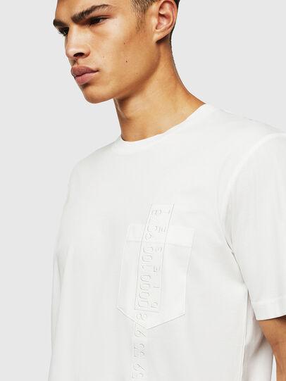 Diesel - T-JUST-POCKET-J1, Bianco - T-Shirts - Image 3