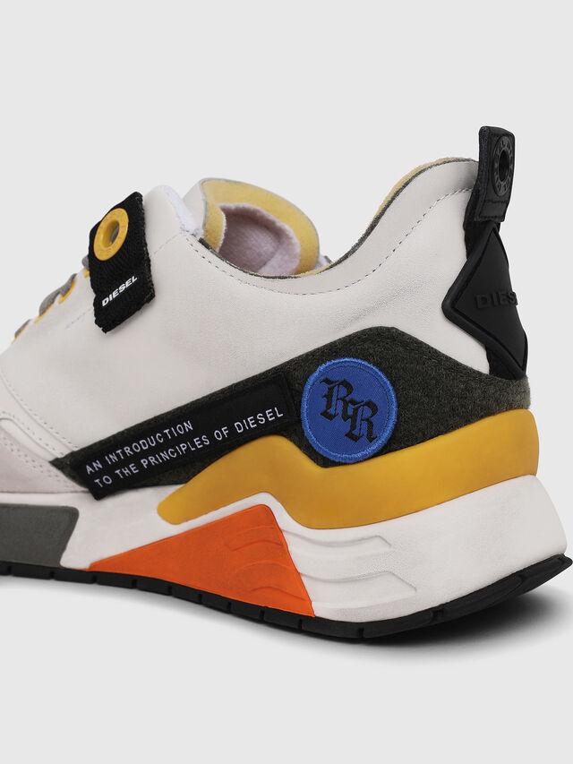 Diesel - S-BRENTHA LC VELCRO, Bianco - Sneakers - Image 4