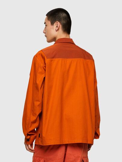 Diesel - S-GUNN-LS, Arancione - Camicie - Image 2