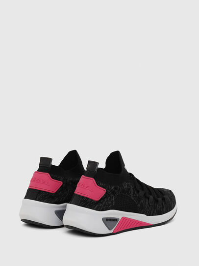 Diesel - S-KB ATHL LACE W, Nero/Rosa - Sneakers - Image 3