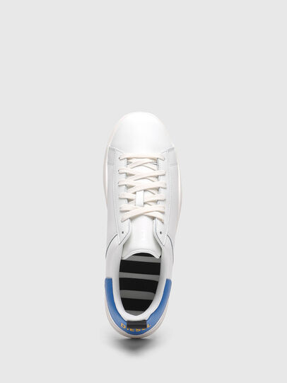 Diesel - S-CLEVER LOW LACE, Bianco/Blu - Sneakers - Image 5