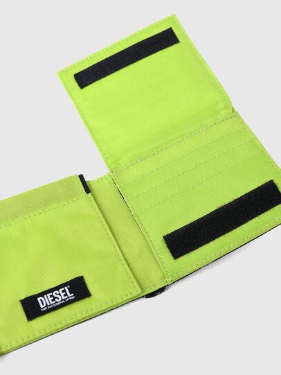 Diesel - HIRESH SP, Nero/Verde - Portafogli Piccoli - Image 5