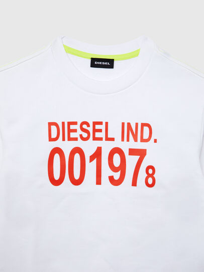 Diesel - SGIRKJ3 OVER, Bianco - Felpe - Image 2