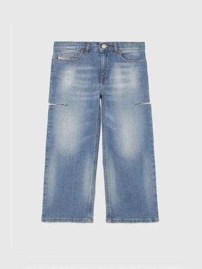 Diesel - WIDEE-J-SP1, Blu Chiaro - Jeans - Image 1