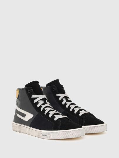 Diesel - S-MYDORI ML, Nero/Giallo - Sneakers - Image 2