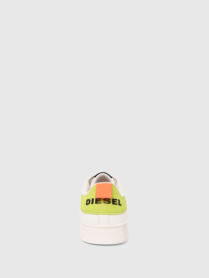 Diesel - S-CLEVER LOW LACE, Bianco/Giallo - Sneakers - Image 5