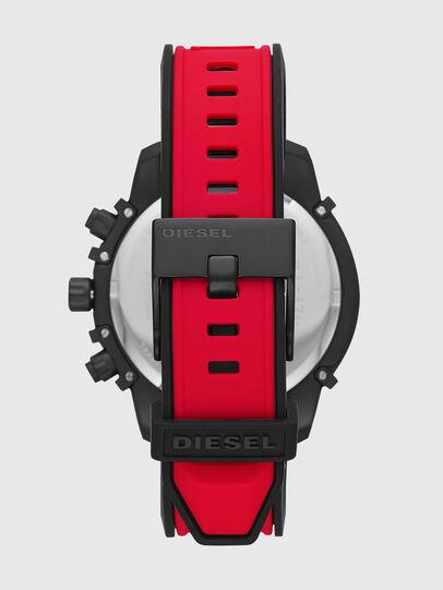 Diesel - DZ4530, Rosso/Nero - Orologi - Image 3