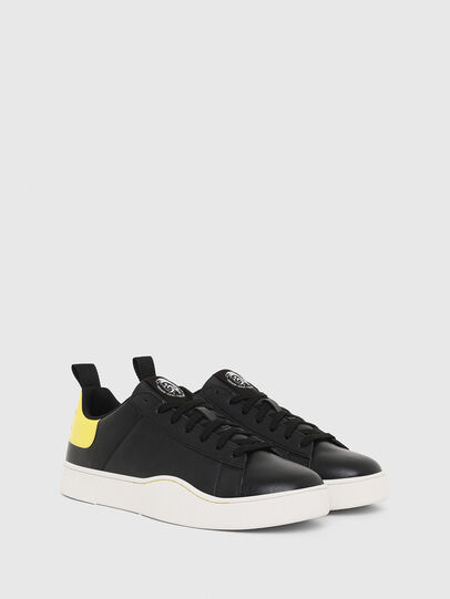 Diesel - S-CLEVER LOW LACE, Nero/Giallo - Sneakers - Image 2