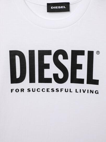 Diesel - TJUSTLOGOB-R, Bianco - T-shirts e Tops - Image 3