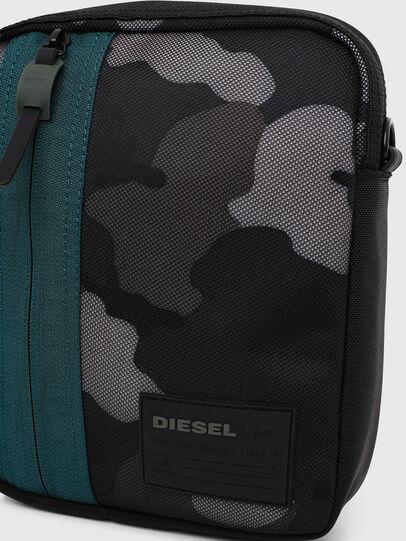 Diesel - ODERZO Z, Blu/Grigio - Borse a tracolla - Image 5