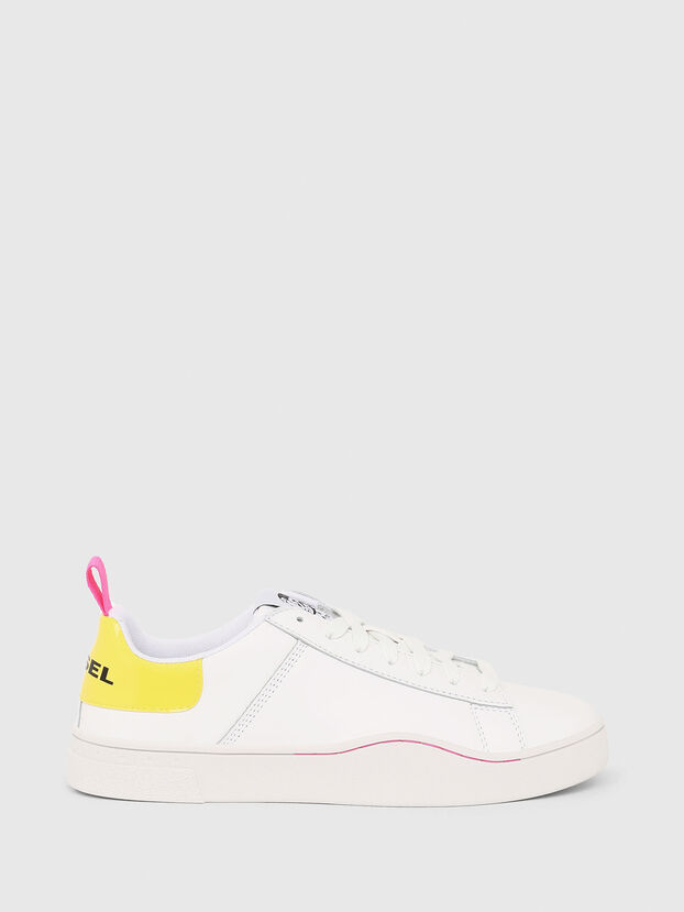 S-CLEVER LOW LACE W, Bianco/Giallo - Sneakers