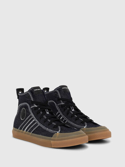 Diesel - S-ASTICO MID LACE, Blu Scuro - Sneakers - Image 2