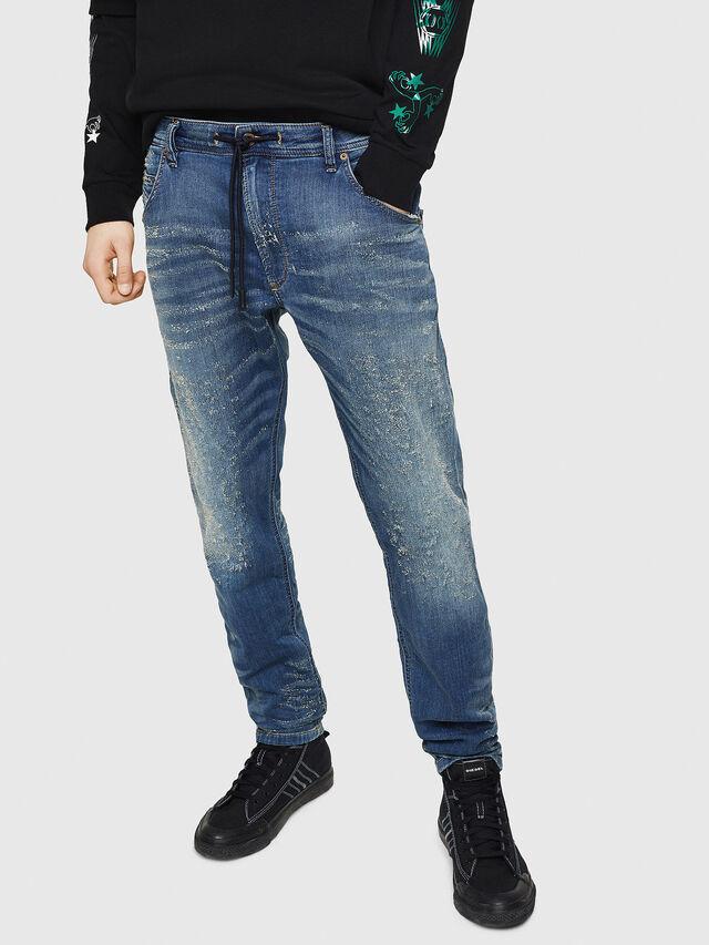 Diesel - Krooley JoggJeans 069HG, Blu medio - Jeans - Image 1