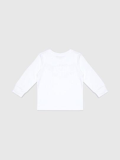 Diesel - TDOSKYB ML-R, Bianco - T-shirts e Tops - Image 2