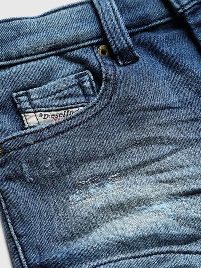 Diesel - PGINGHER JOGGJEANS, Blu medio - Shorts - Image 3