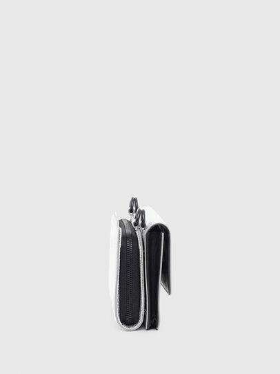 Diesel - DUPLET LC, Argento - Portafogli Con Zip - Image 3