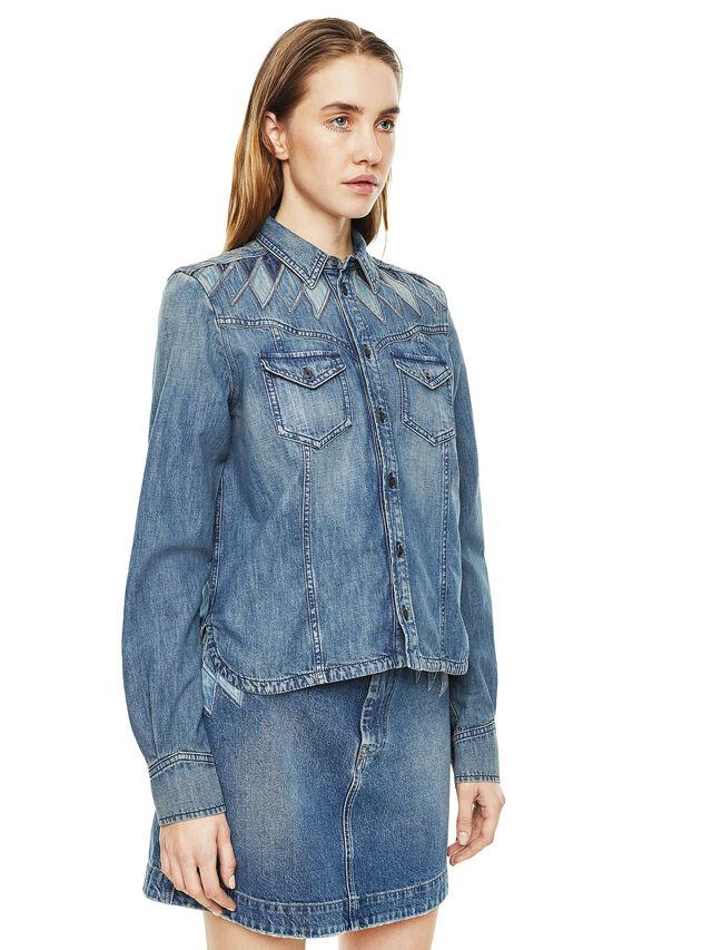 Diesel - CALLYVAN, Blu Jeans - Camicie - Image 5