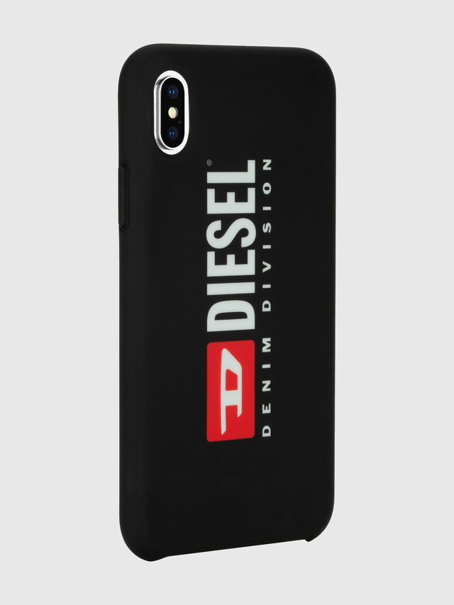 Diesel - DIESEL PRINTED CO-MOLD CASE FOR IPHONE XS MAX, Nero/Bianco - Cover - Image 6