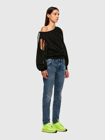 Diesel - Krailey JoggJeans 069NZ, Blu medio - Jeans - Image 5