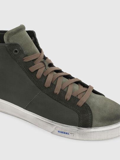 Diesel - S-MYDORI MC, Verde Militare - Sneakers - Image 4
