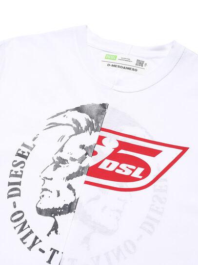 Diesel - D-MESO&MESO, Bianco - T-Shirts - Image 2